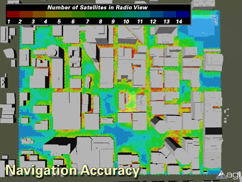 GPS Coverage Quality in an Urban Environment